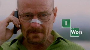 """""""Yo gano"""". Walter no quiere estar por debajo de nadie."""