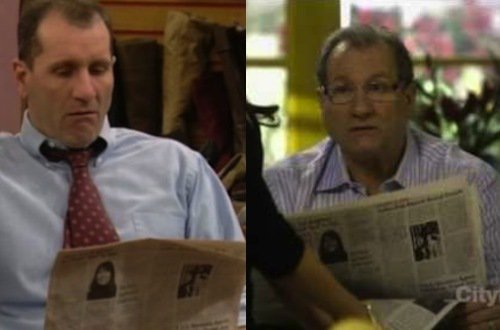 La vida da segundas oportunidades... y Ed O´Neil la merecía aunque lea el mismo diario 20 años después
